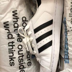 adidas Shoes - Adidas Superstar kids size 5 = women's 7
